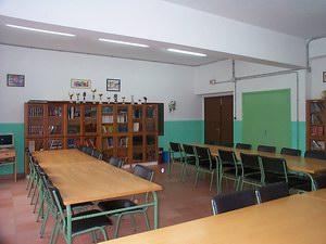 Biblioteca del Colegio Cisneros