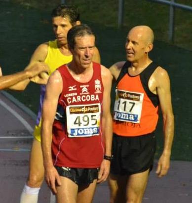 Jose Campeón de España en 5000 mts