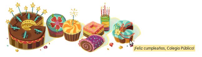 Google nos felicita